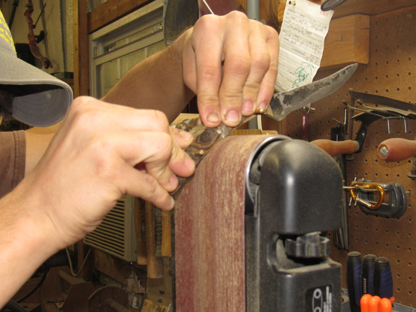 Shaping the Handle