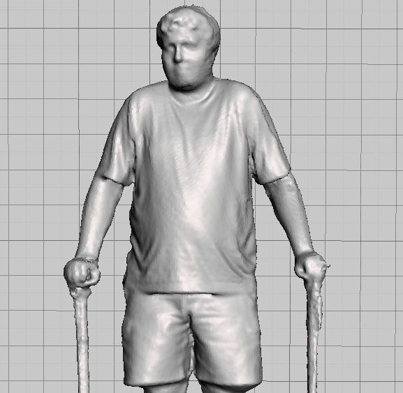 Basic Human Scan with Kinect & ReconstructMe Console