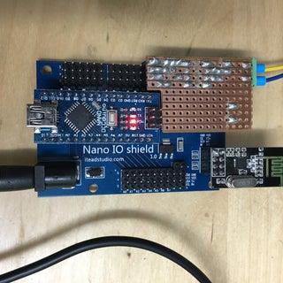 Model Railway DCC Arduino Wireless Commands on a Dead Rail System