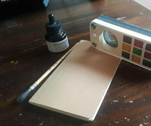 Magnetic Watercolor Box : My First CNC Project