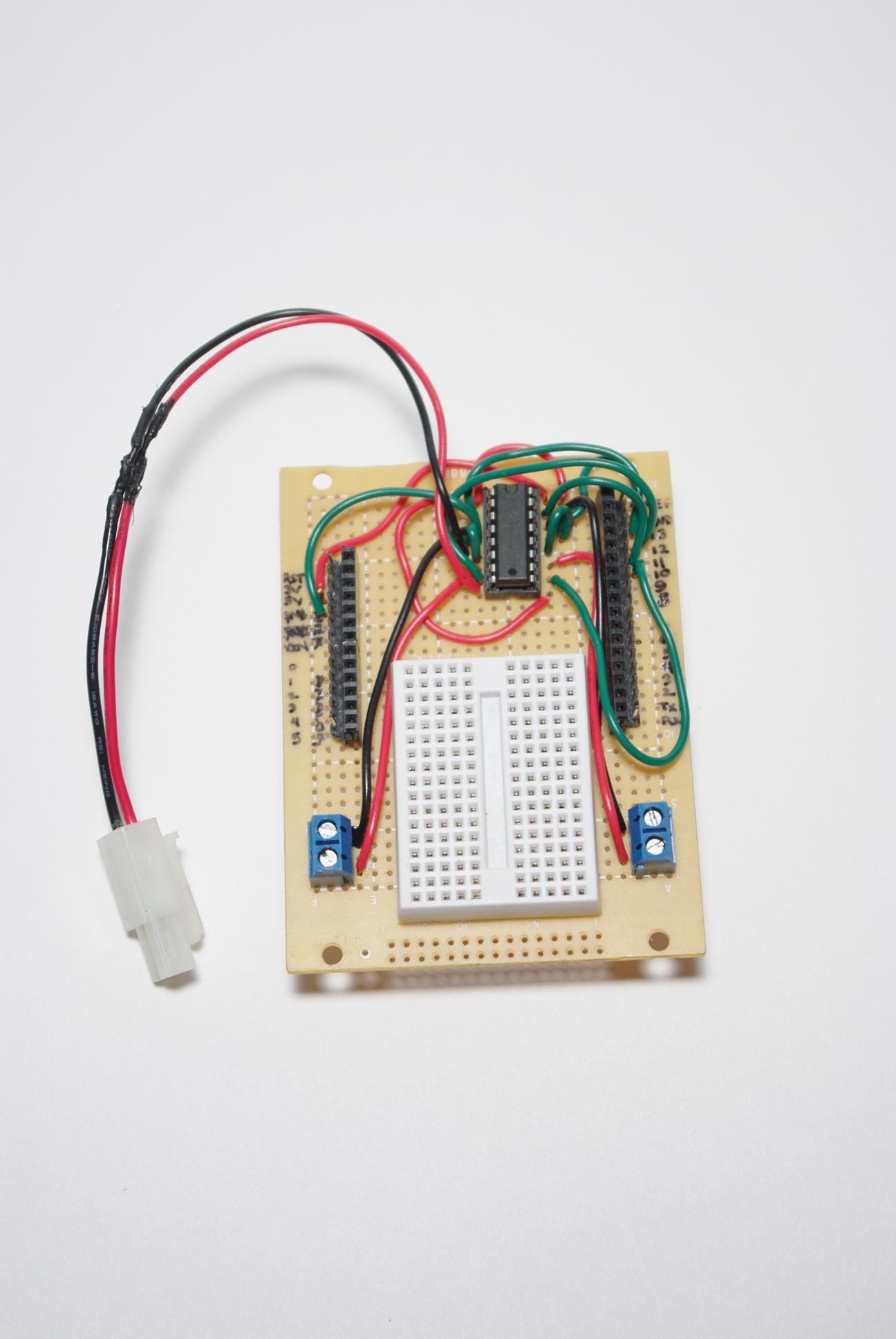 Quick and Easy Arduino Compatible H-bridge Shield