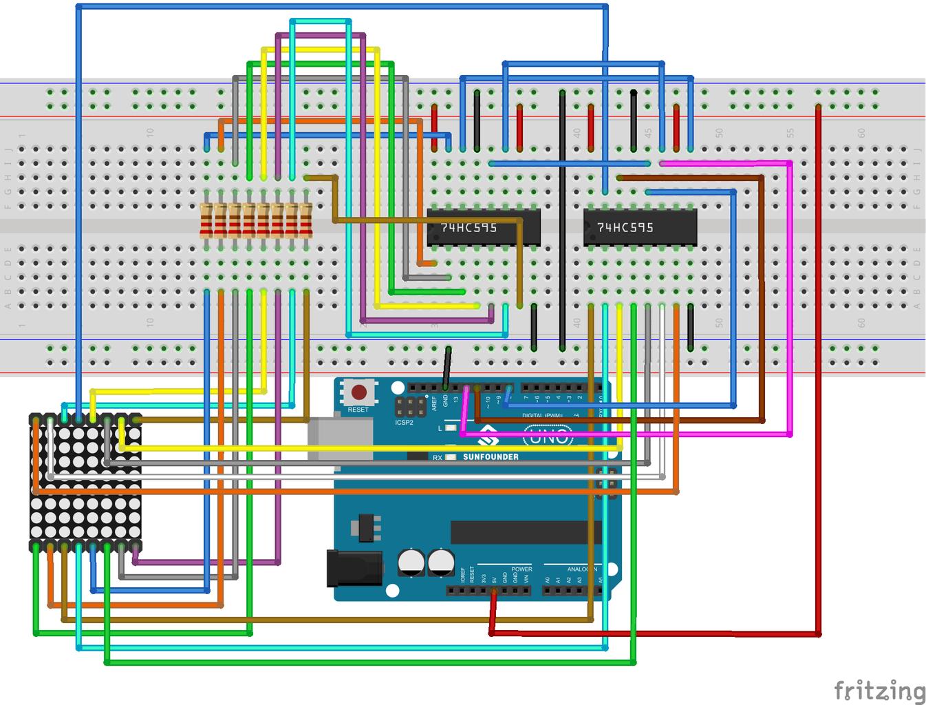 Step 3: 8x8 Dot Matrix