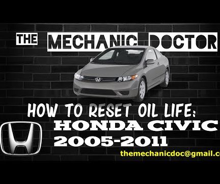 How to Reset Oil Life: Honda Civic 2005-2011