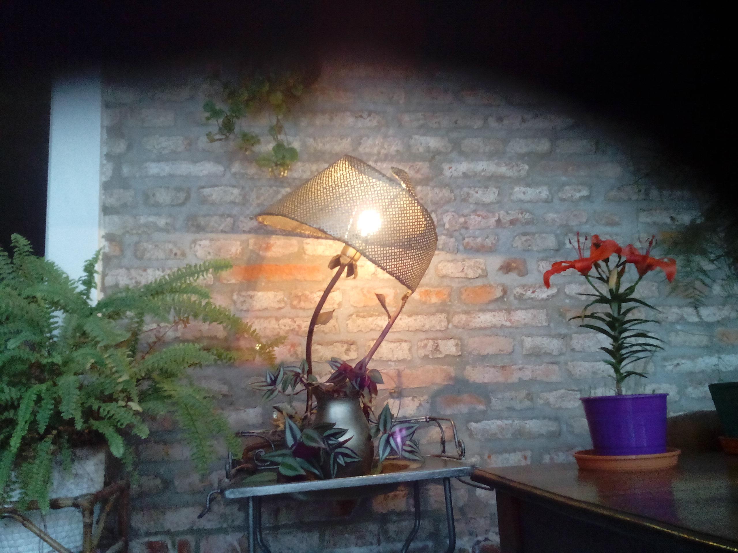BELLE EPOQUE SIDE LAMP FROM SCRAPT