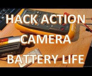Hack Action Camera Battery Life