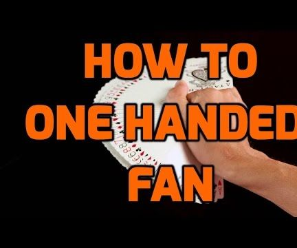 How to Do the One Handed Fan