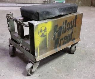Fallout Shop Stool (or Rat Rod Chair)