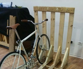 Bike/Skateboard Rack and Guitar Rack