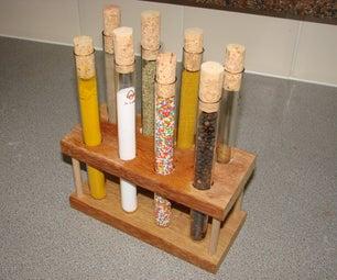 Kitchen Science Test Tube Rack