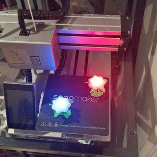 Glowing 3D Printed Flowers