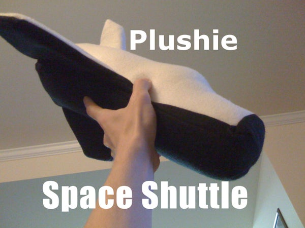 Plushie Space Shuttle