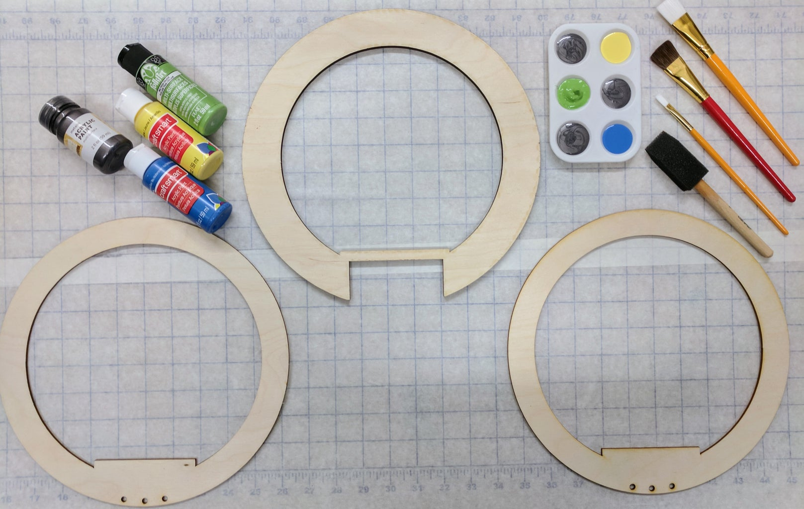 Paint the Ring Blades