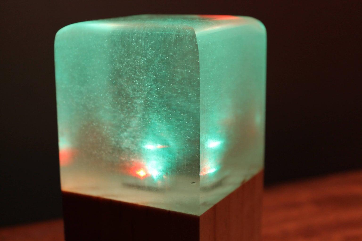 LED Resin Lamp V4