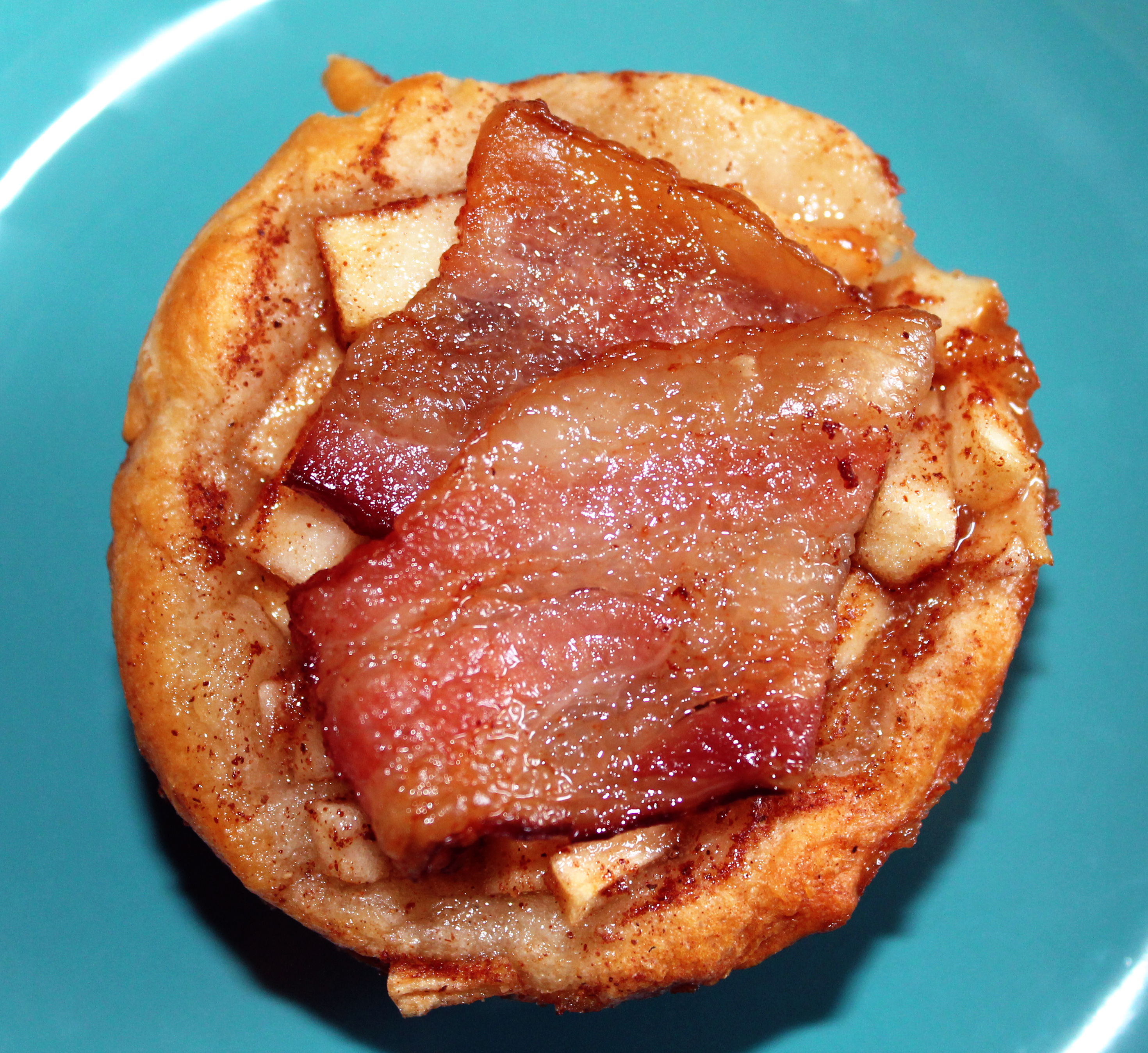 Mini Bacon Apple Pie