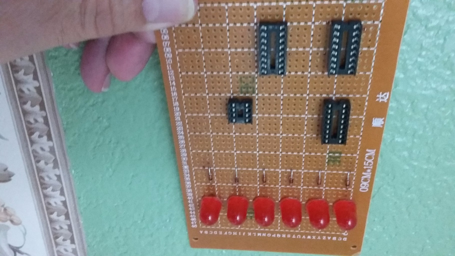 Install the Diodes