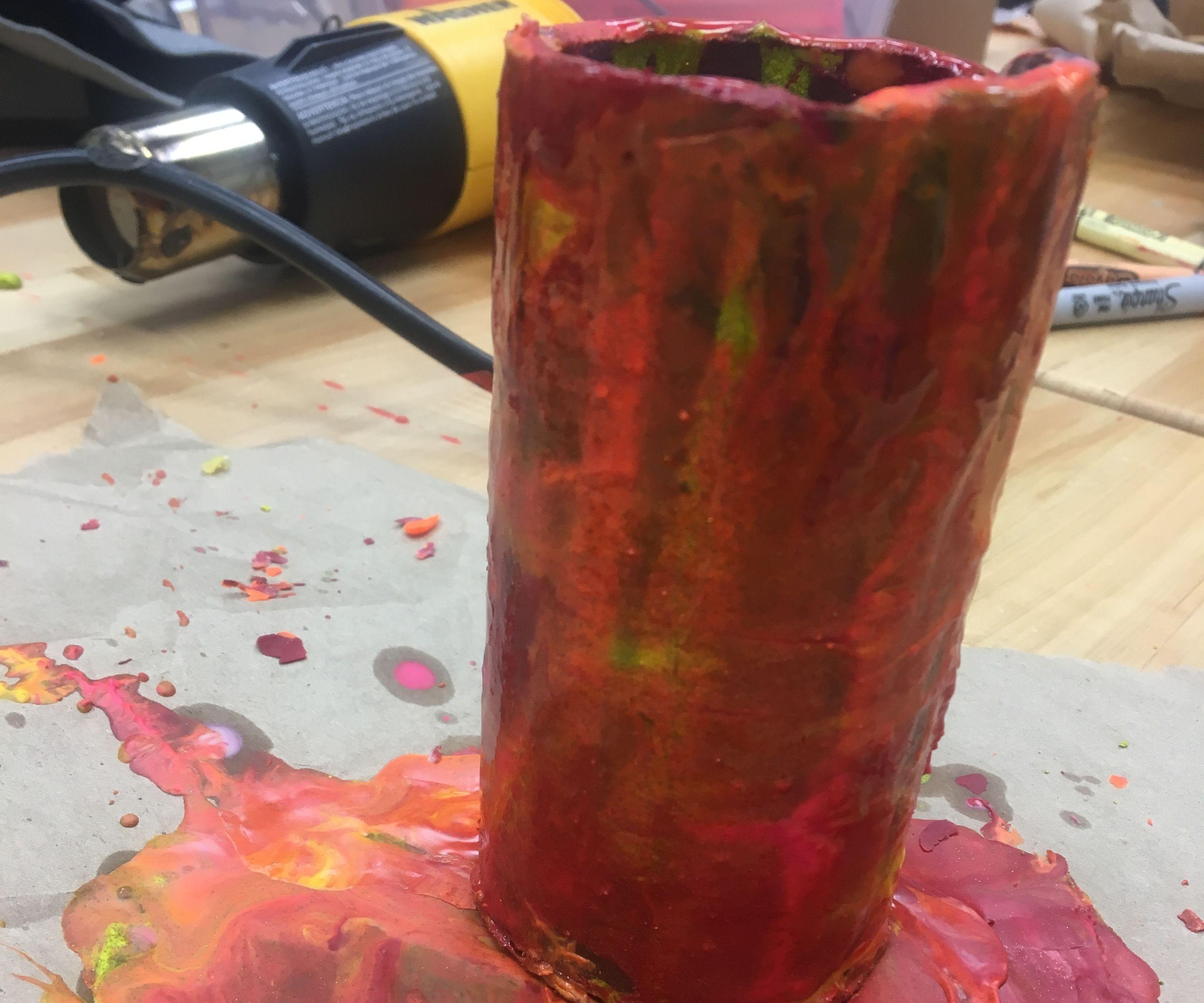 Easy Crayon Pencil Cup