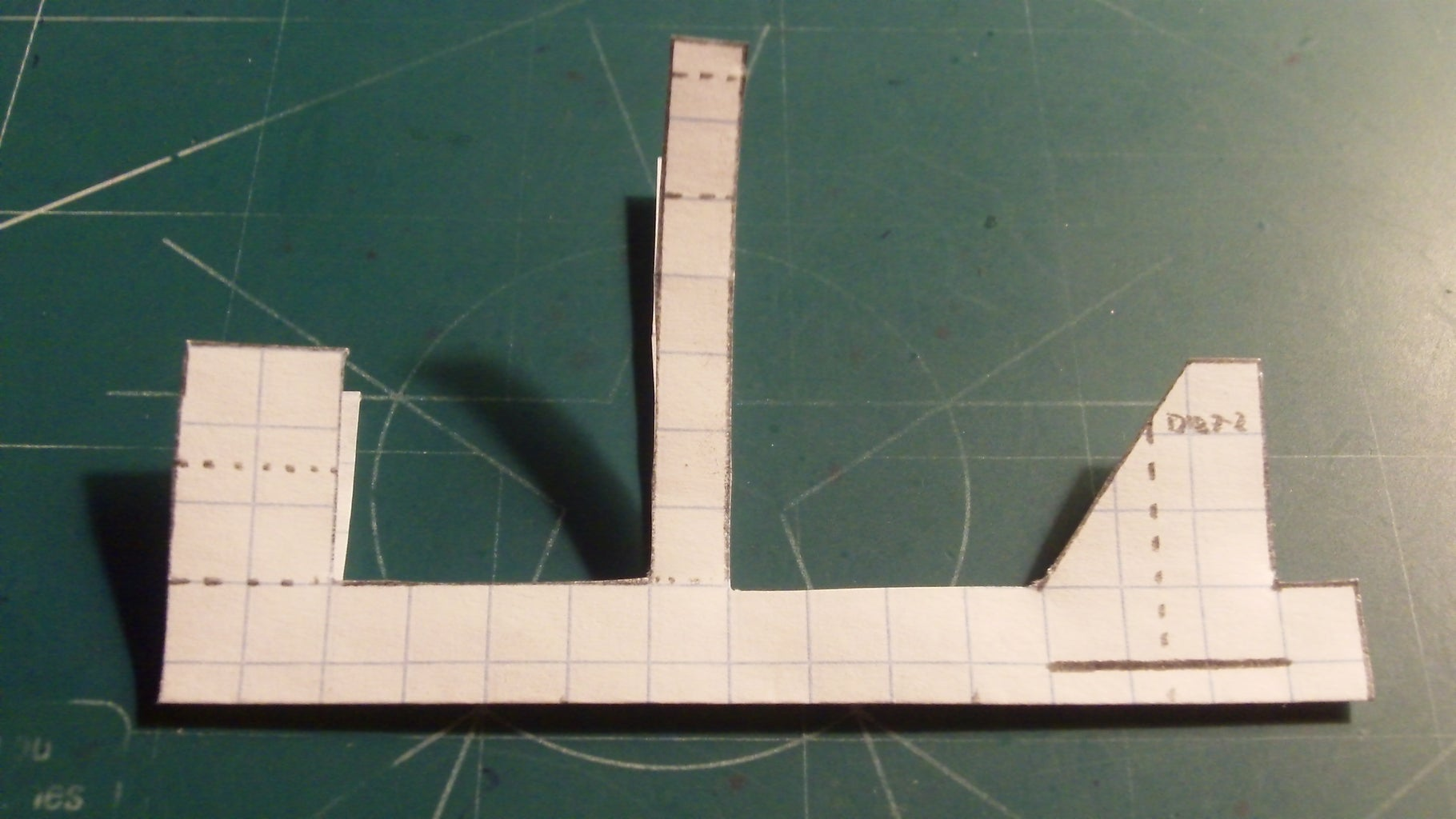 Making the Rudder and Making and Taping the Fuselage