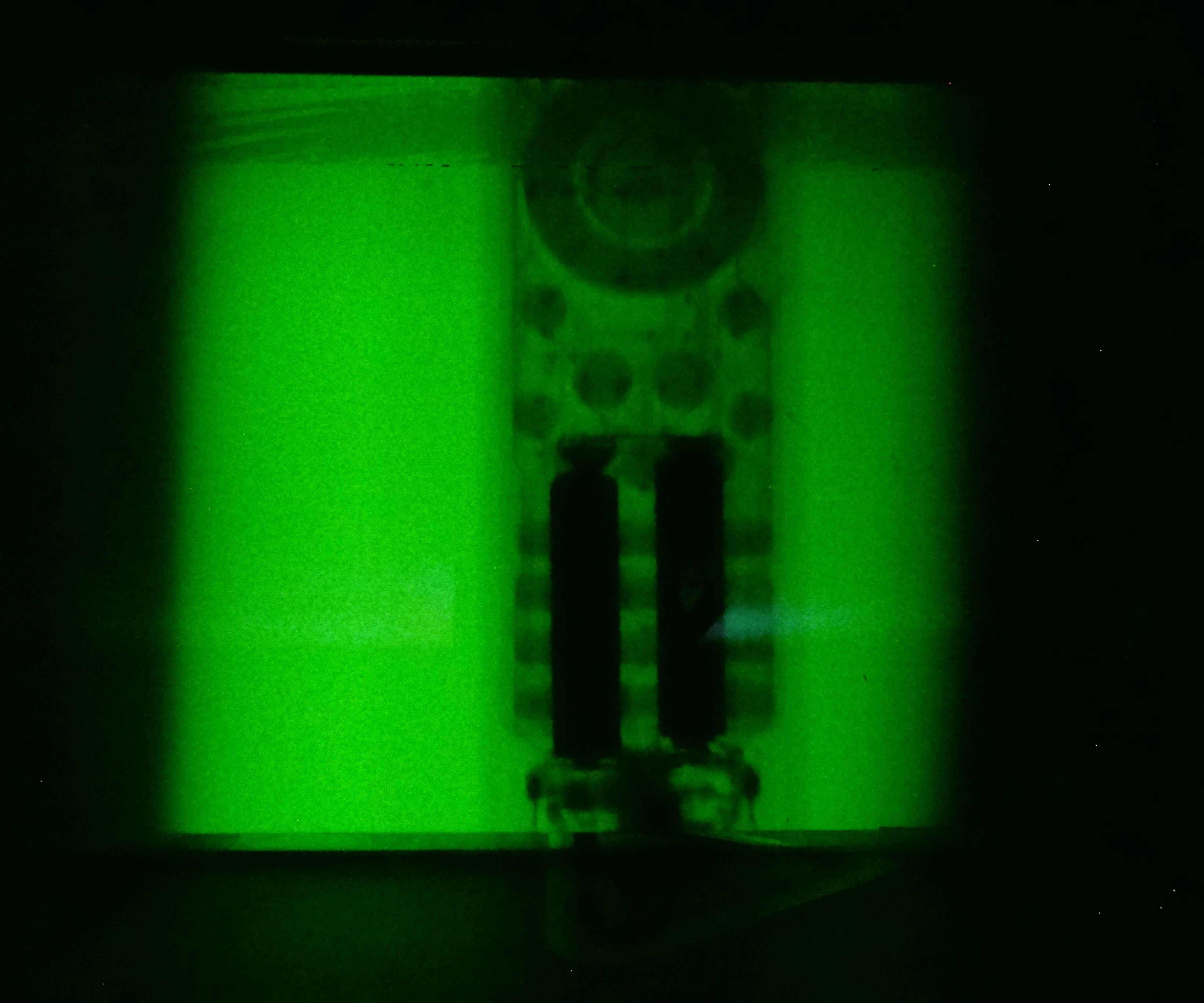 Homemade xray machine