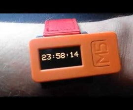 DIY How to Display Time on M5StickC ESP32 Using Visuino - Easy to Do