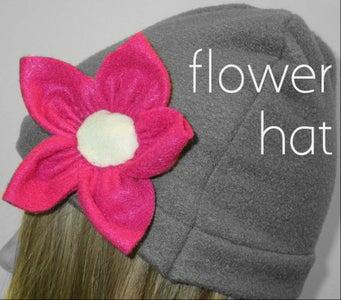 Flower Hat.