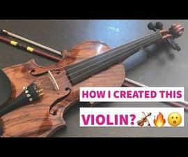 Let's Make a Violin 🎻