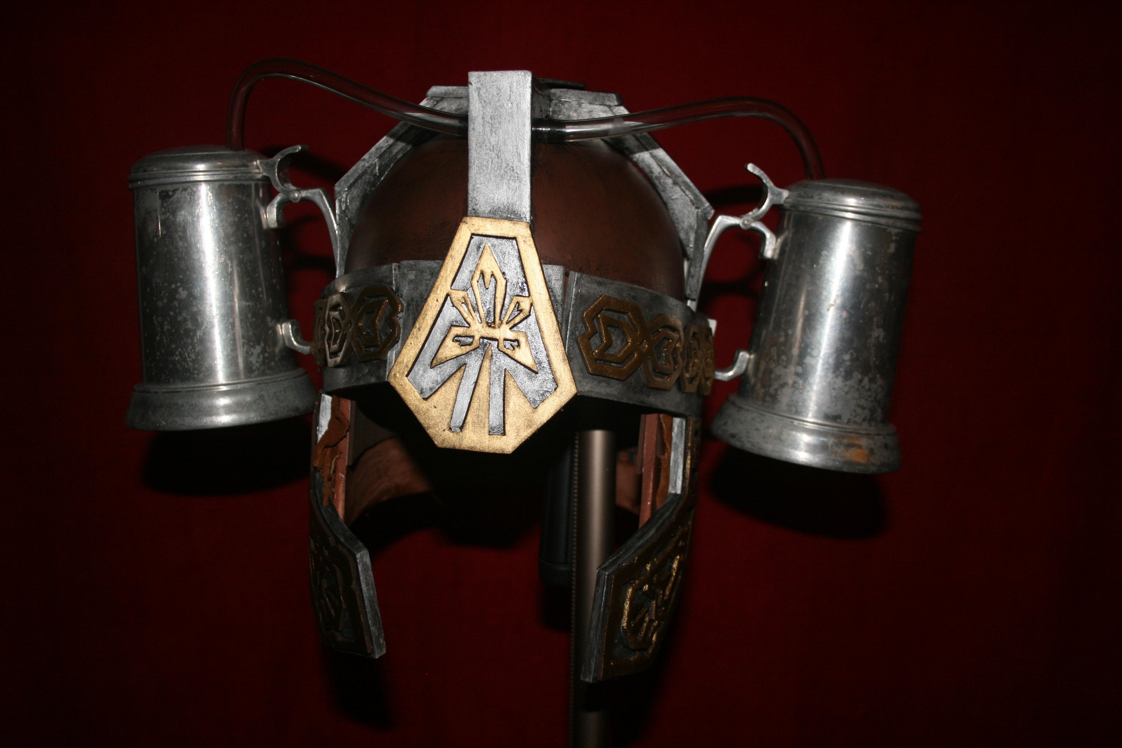 Medieval Fantasy Beer Helmet