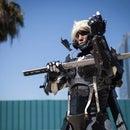 Raiden (Cyborg Ninja) w/ Motorized Face Shield from Metal Gear
