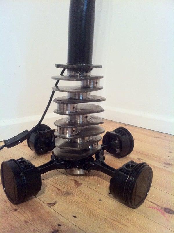 Subaru Standing Lamp