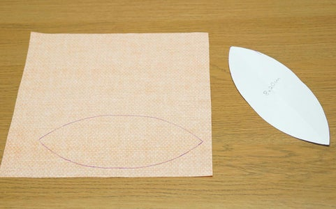 Pumpkin #1: Cut Out the Pieces