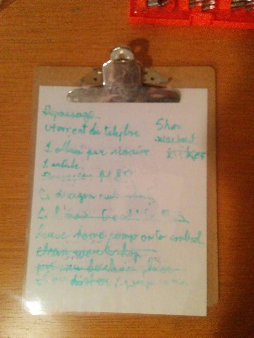 Reusable Noteboard