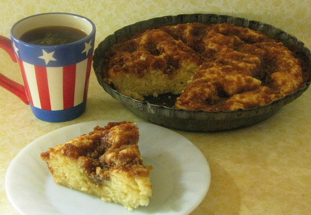 Brown Sugar & Sour Cream Coffee Cake