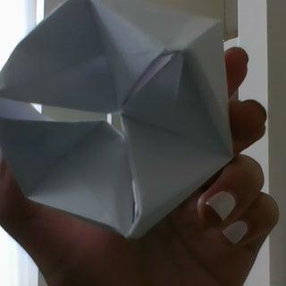 How to Fold an Origami Flexagon