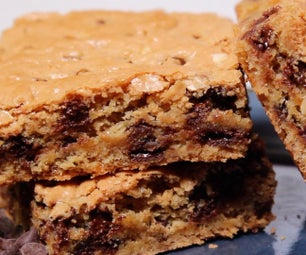 Yummy Peanut Butter Chocolate Chip Brownies