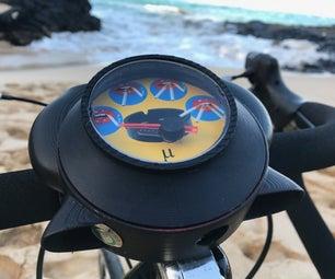 Bike Analog Pollution Meter