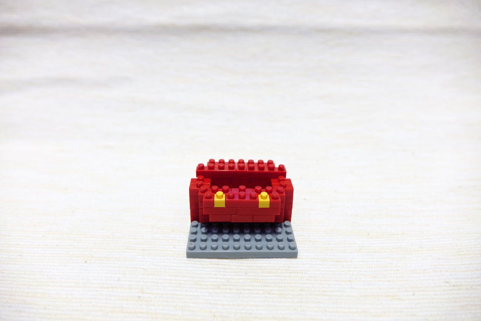 Red Block 1*4, 1*4
