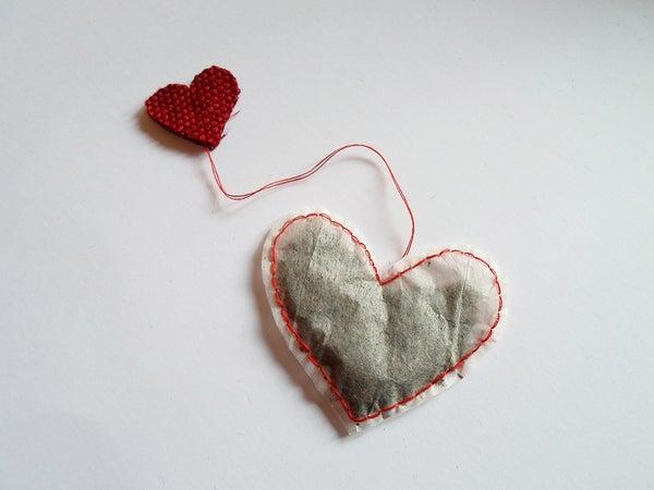 Heart-shaped Tea Bag