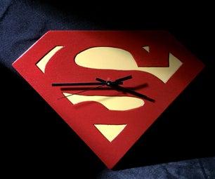 3 Ways to Make a Superman Clock