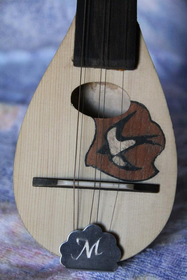 Baglama Construction - Making a Traditional Greek String Music Instrument