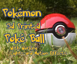 Working Pokémon Poké Ball 3d Printed