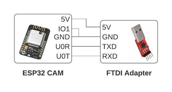Preparing to Upload Code to the ESP32 CAM ⬆️