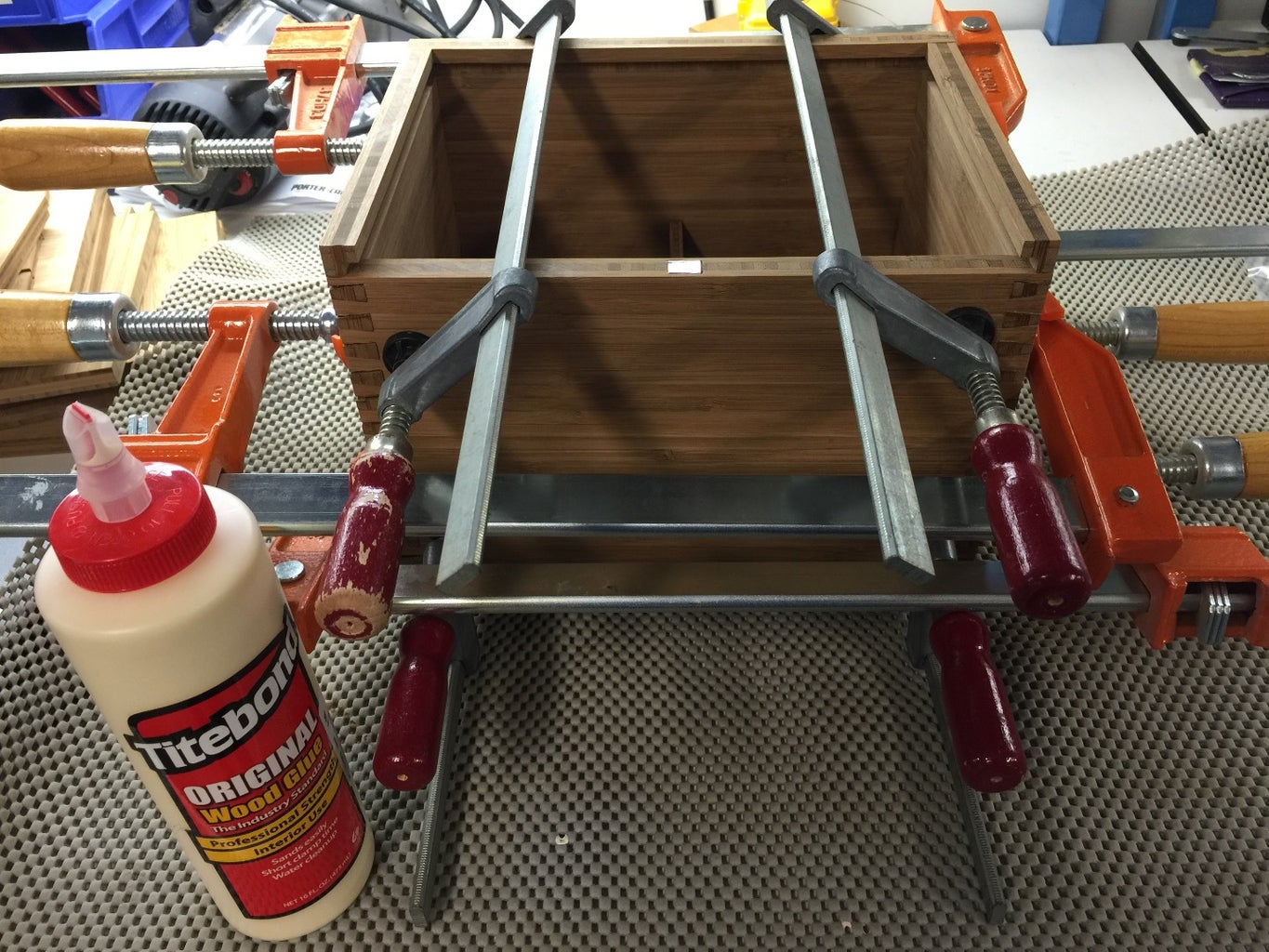 Assembly, Sanding, Filling and Finishing