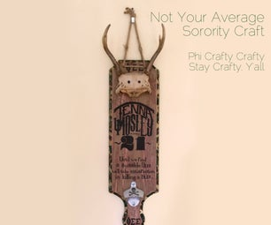 Not Your Average Sorority Craft: the 21st Paddle