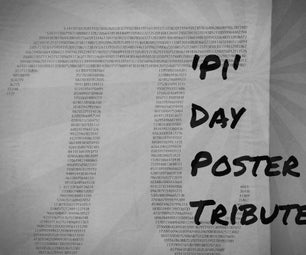 'Pi' Day Poster Tribute