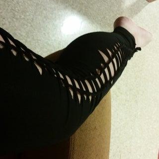 No-Sew Braided Leggings