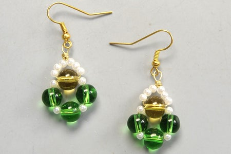 The Finial Earrings Just Like This: