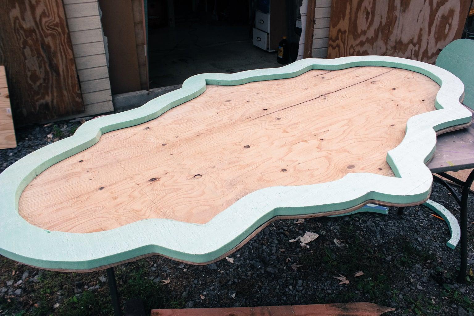 Make the Backboard and Frame