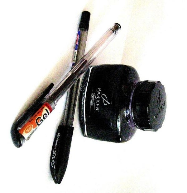 Refill a Ballpoint or Gel Pen With Fountain Pen Ink