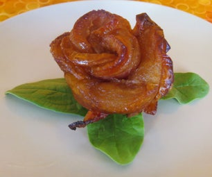 Apple Bacon Roses