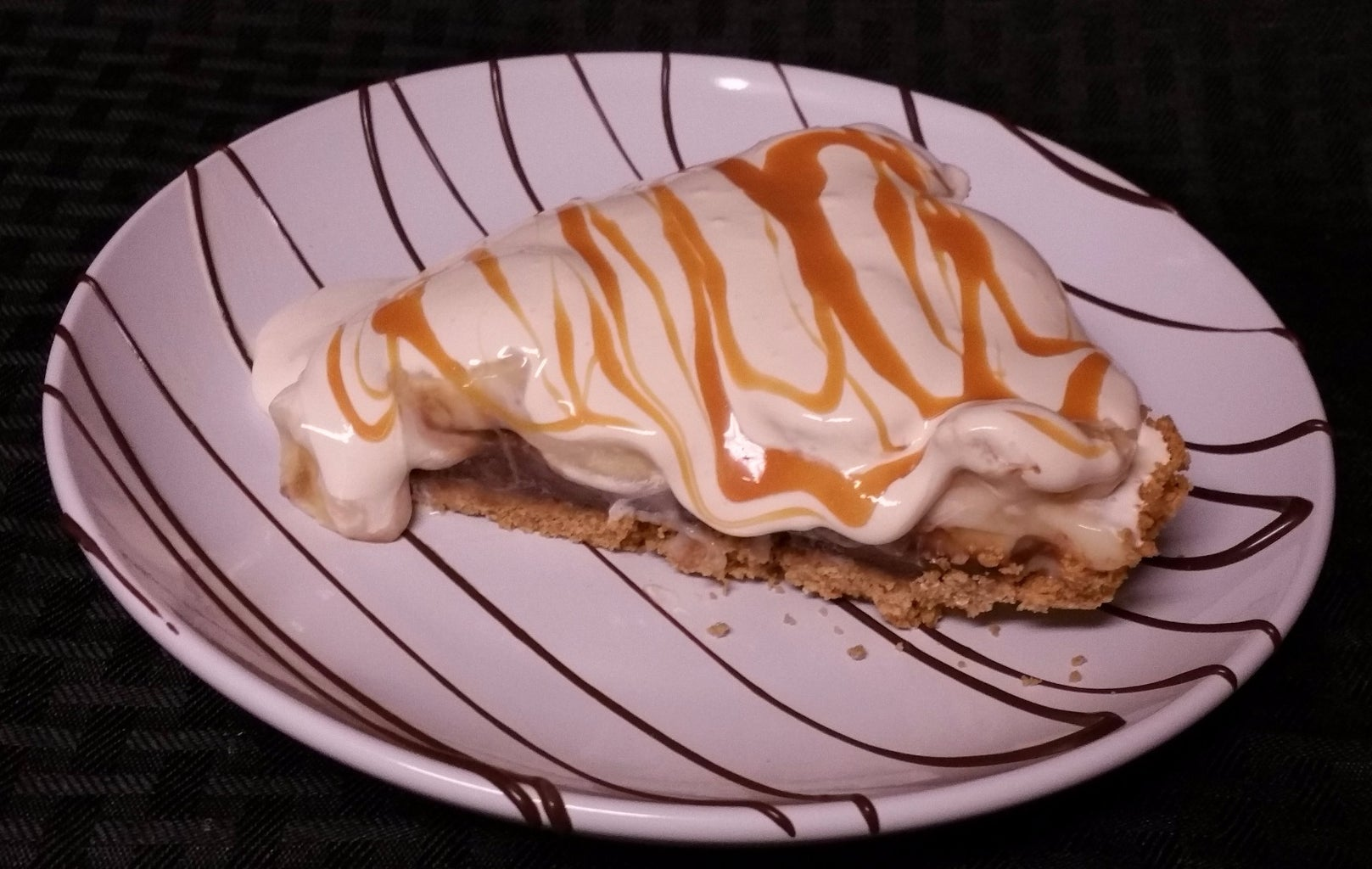 Chocolate Banana Caramel Pie