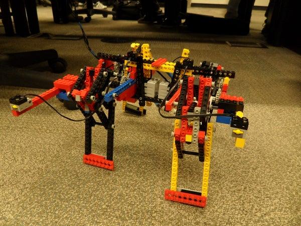 Quadroped Robot - (NIOSII Assembly)